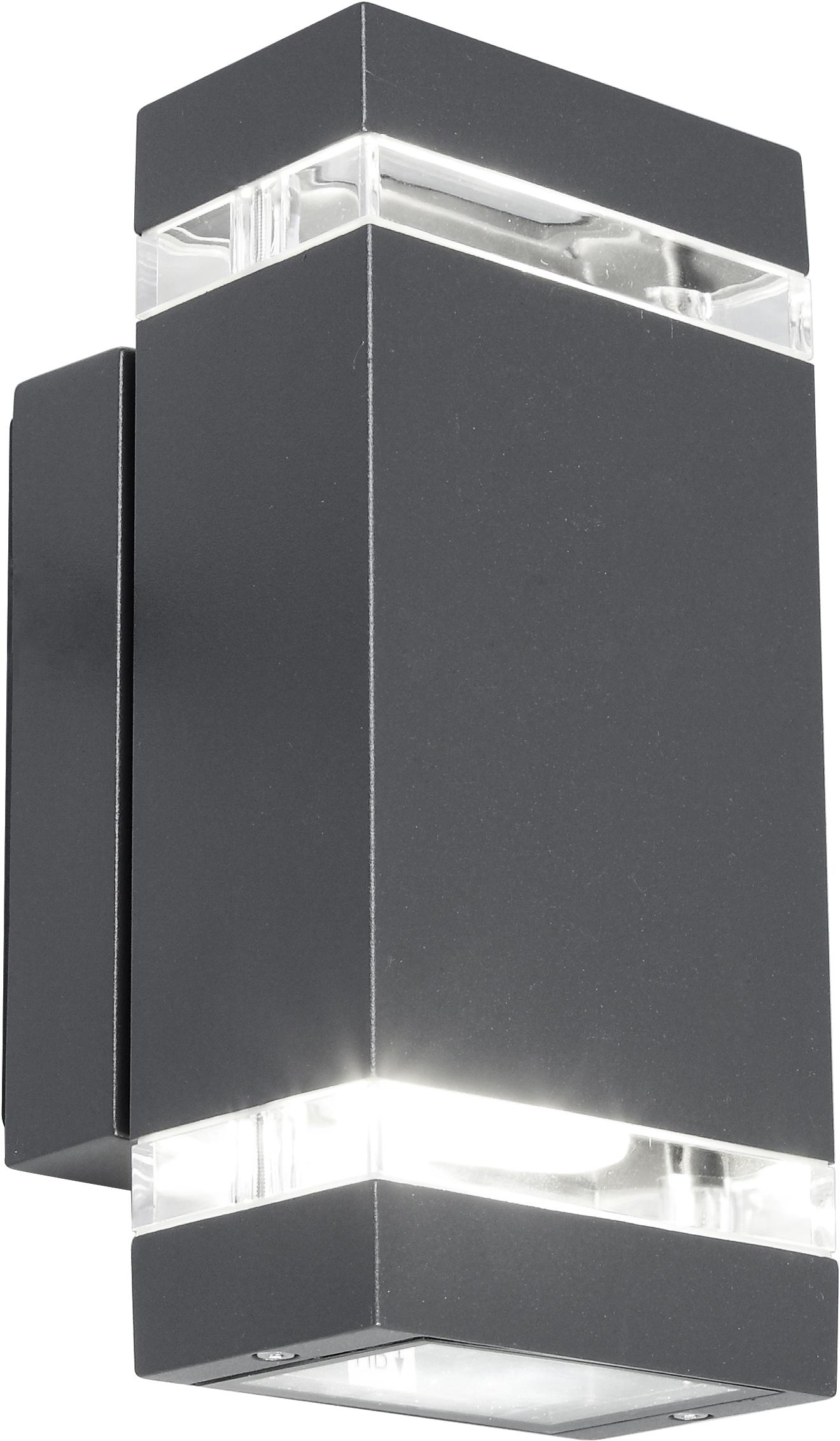 LUTEC Außen-Wandleuchte FOCUS 5605011118, GU10, 1 St.