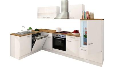 RESPEKTA Winkelküche »Hamm«, mit E-Geräten, Stellbreite 280 x 172 cm kaufen