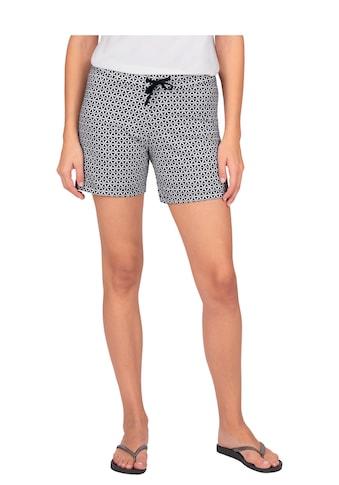 Trigema Shorts, mit angesagtem Retro-Muster kaufen