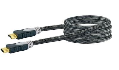 Schwaiger High Speed HDMI Kabel mit Ethernet, 4K, Full HD, 3D Ultra HD »vergoldete Kontakte« kaufen