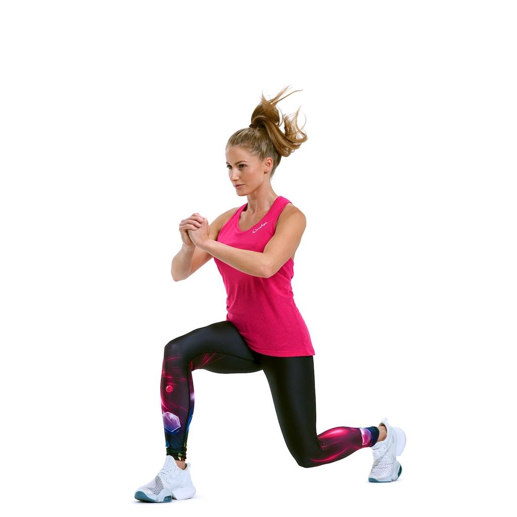 Winshape Leggings »HWL102-COSMIC«, Core-Stability-Bund mit Bauch-Weg-Effekt