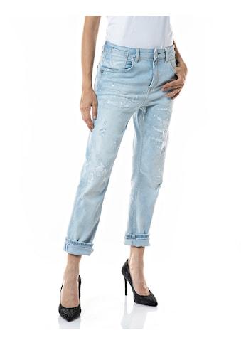 Replay Boyfriend-Jeans, 5-Pocket-Vintage Style mit Elasthan kaufen