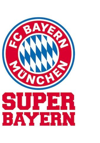 Wall-Art Wandtattoo »Fußball FCB Super Bayern« kaufen