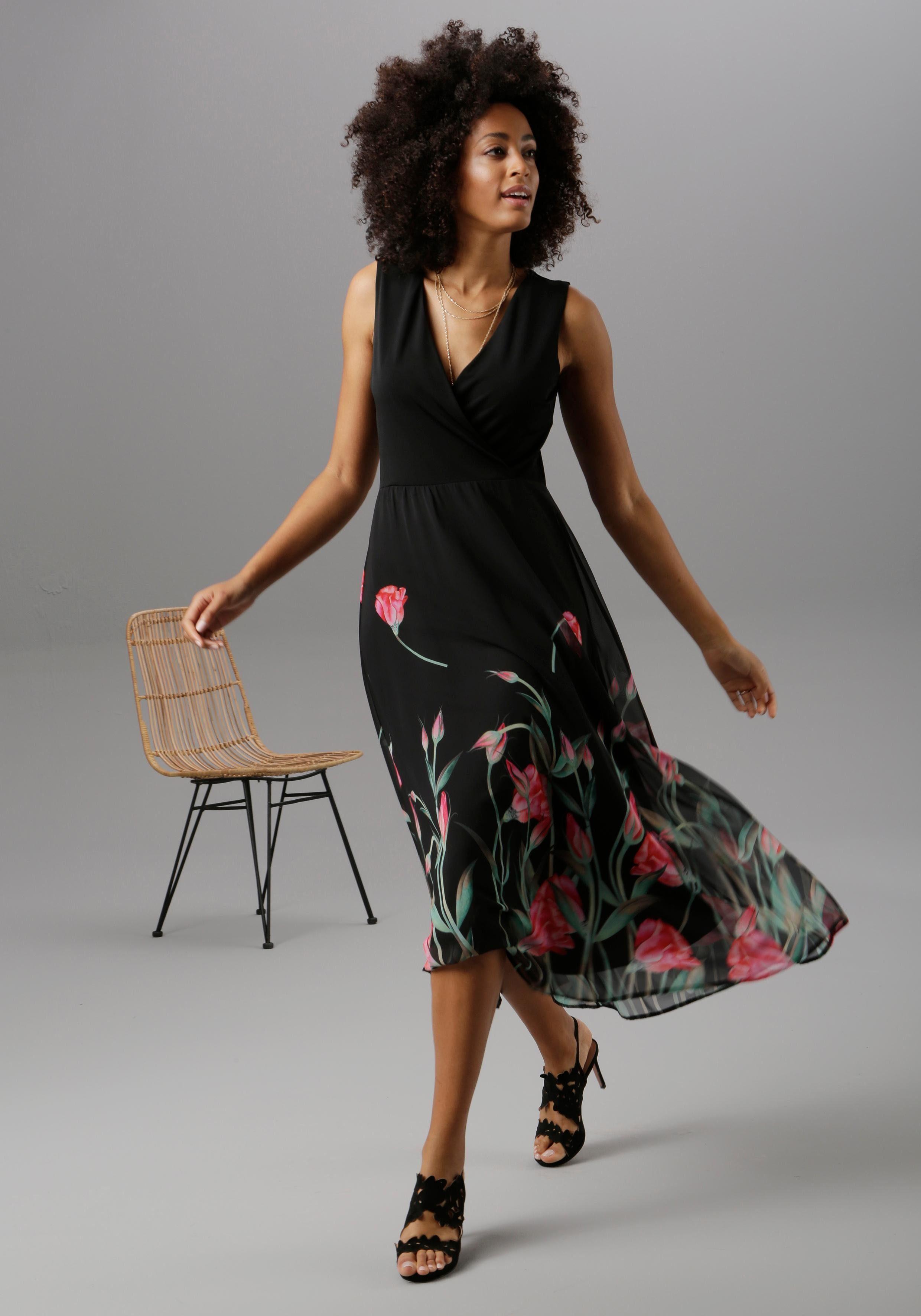 Aniston SELECTED Sommerkleid shoppen   BAUR
