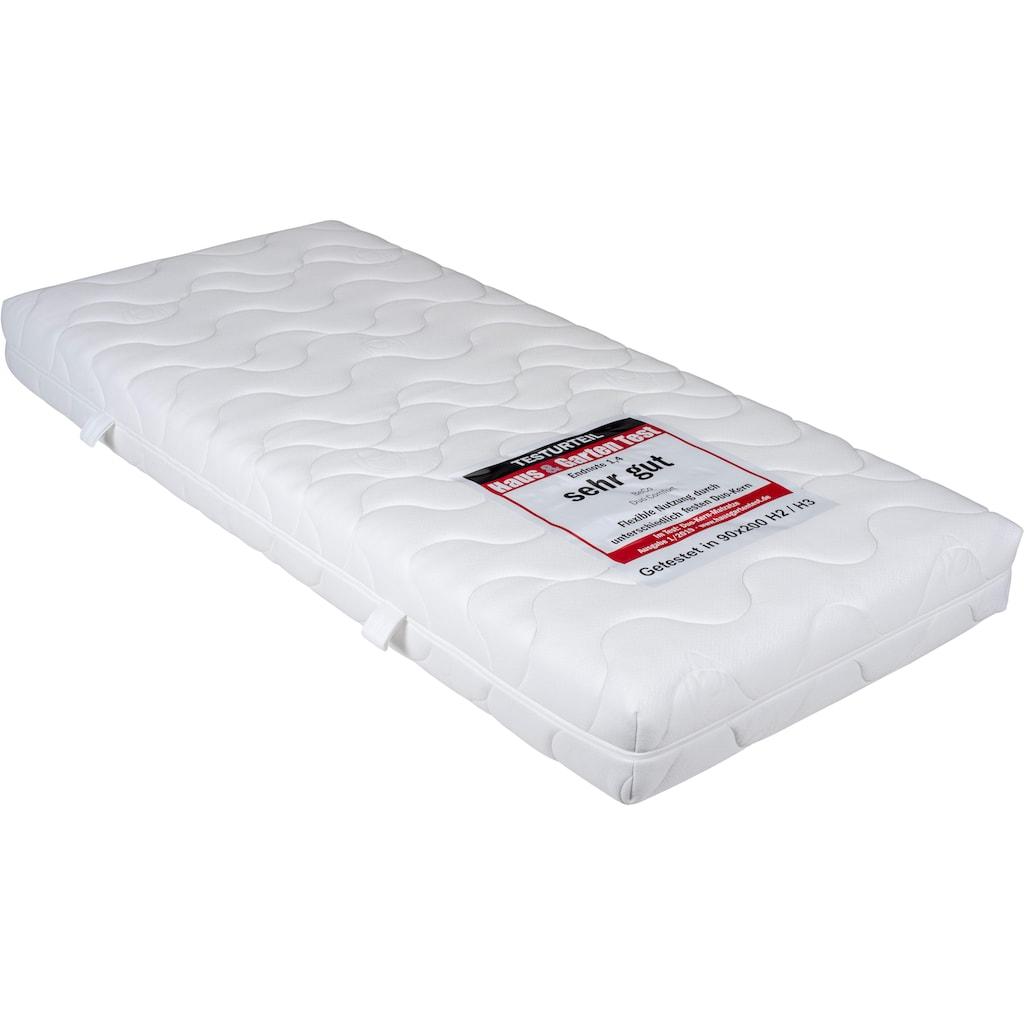 BeCo EXCLUSIV Komfortschaummatratze »Duo Comfort 20«, (1 St.), Wendematratze mit zwei unterschiedlich festen Liegeseiten