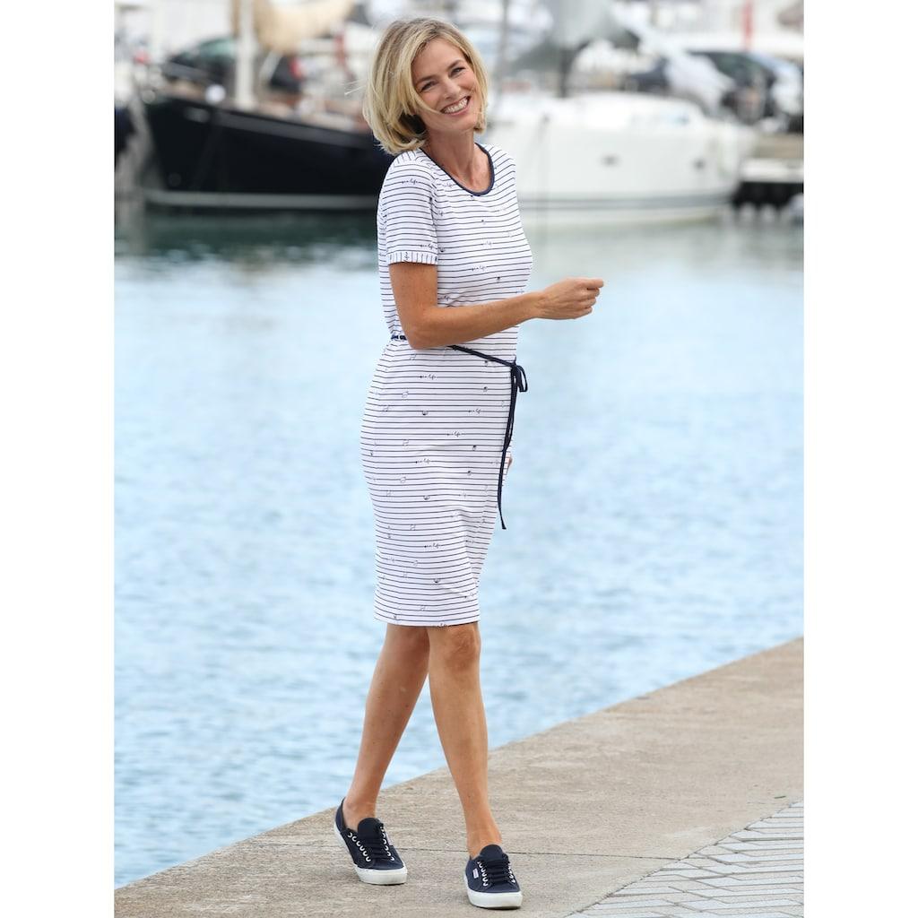 Dress In Kleid im maritimen Look