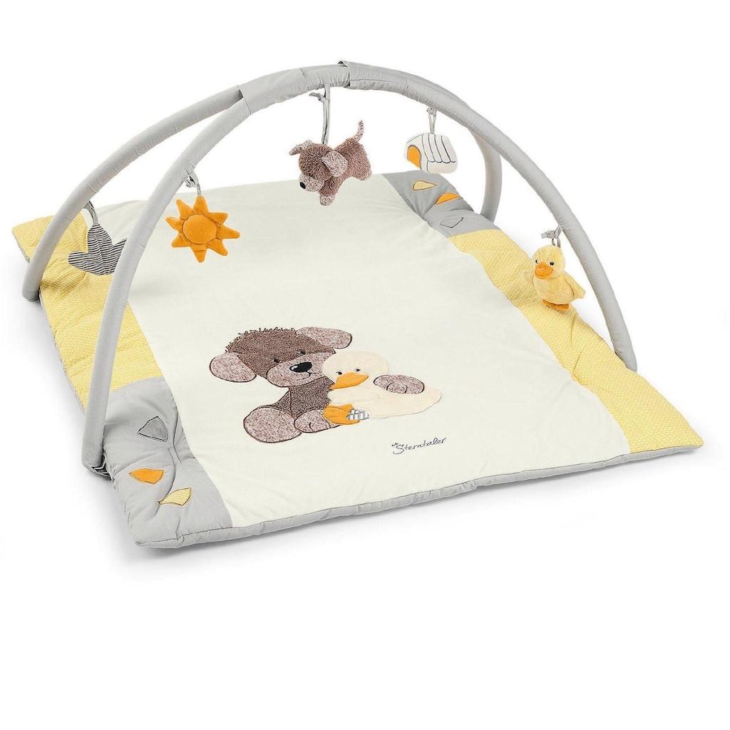 Sterntaler® Spielbogen »Hanno II und Baby Edda«, mit Krabbeldecke