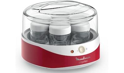 Moulinex Joghurtbereiter »Yogurteo YG2295«, 7 Portionsbehälter, Umweltbewusst,... kaufen