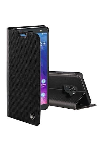 Hama Booklet Handy Smartphone Tasche Hülle Samsung Galaxy J6 »Slim Pro« kaufen