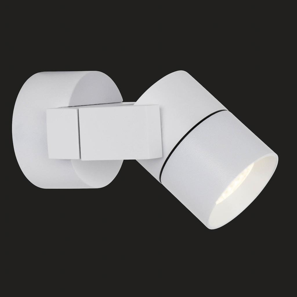 AEG Kristos LED Außenwandspot weiß