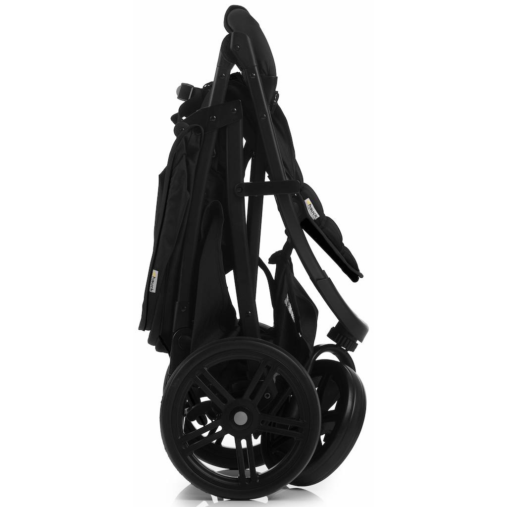 Hauck Dreirad-Kinderwagen »Rapid 3 Caviar/Türkis«, 22 kg, mit schwenk- und feststellbarem Vorderrad; Kinderwagen, Jogger, Dreiradwagen, Jogger-Kinderwagen, Dreiradkinderwagen