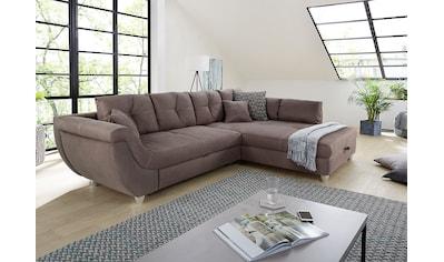 Jockenhöfer Gruppe Ecksofa, mit großem Stauraum, Gästebett- und Relaxfunktion,... kaufen