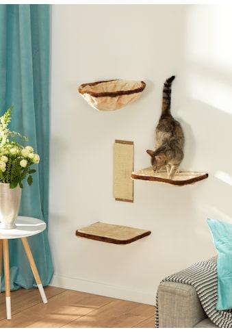 SILVIO design Katzen-Kletterwand, hoch, 4-tlg. kaufen