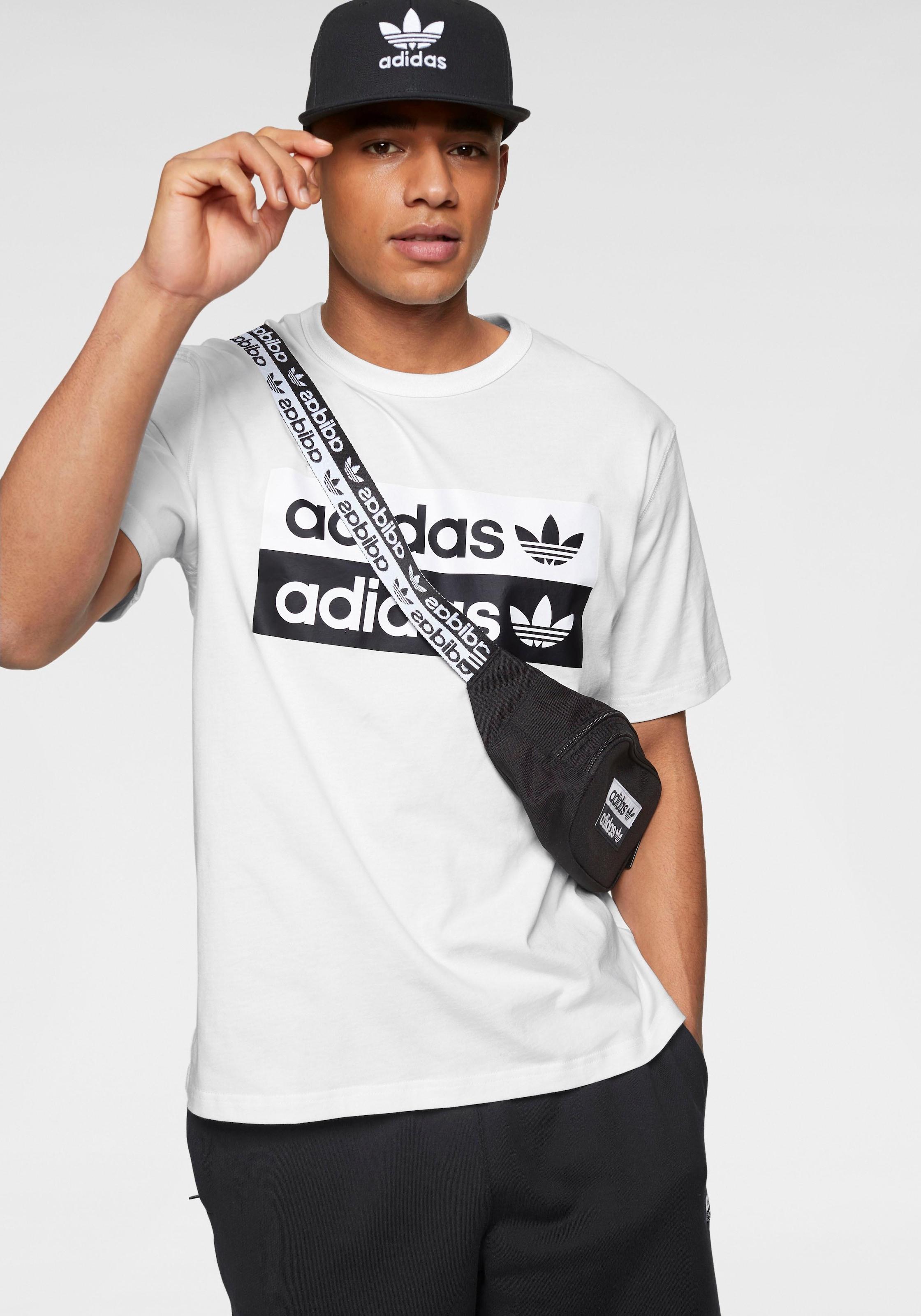 adidas Originals T Shirt »VOCAL LOGO TEE« auf Rechnung | BAUR