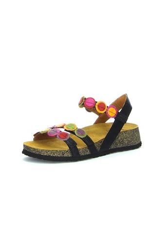 Think! Sandale »KOAK«, mit farbenfrohen Applikationen kaufen