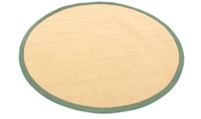 carpetfine Sisalteppich »Sisal«, rund, 5 mm Höhe kaufen