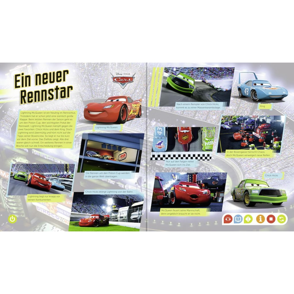Ravensburger Buch »tiptoi®, Cars«, Made in Europe