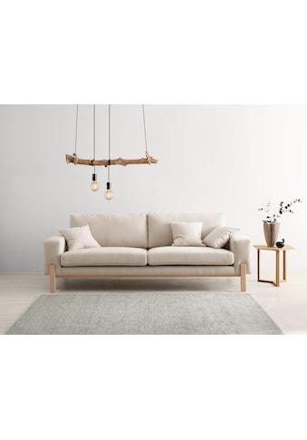 OTTO products 3-Sitzer »Hanne«, Bezug aus natürlichen Materialien: Baumwolle und Leinen kaufen