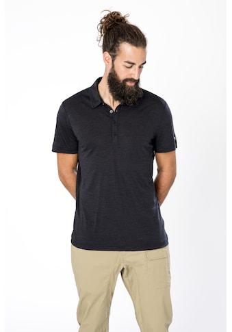 SUPER.NATURAL Poloshirt »M EVERYDAY POLO«, formstabiler Merino-Materialmix kaufen