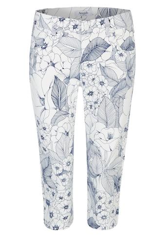 ANGELS Jeans,Anacapri' mit femininem Blumenmuster kaufen