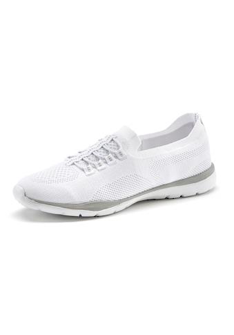 LASCANA Sneaker, Slip In bequem zum Reinschlüpfen aus leichtem Meshmaterial kaufen