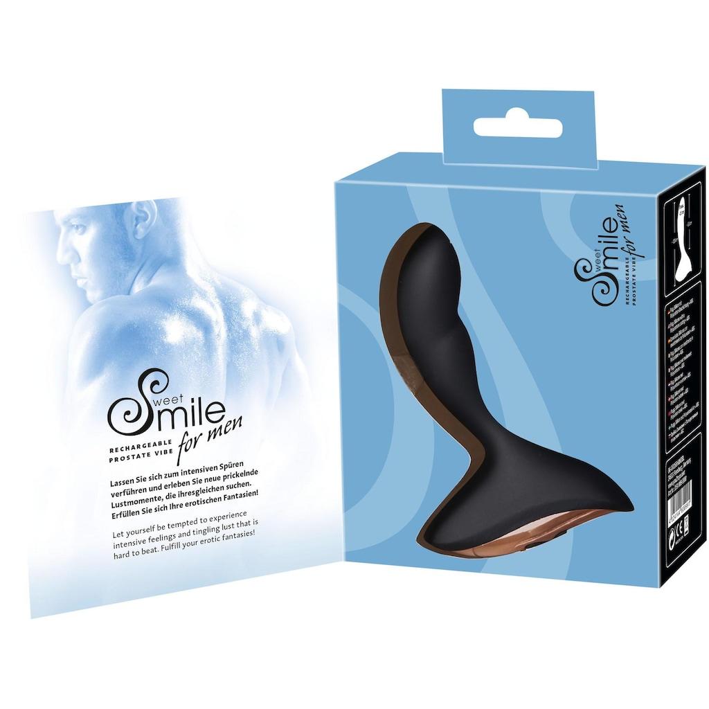 Smile Analvibrator »Prostata Vibrator«, P-Punkt Stimulation