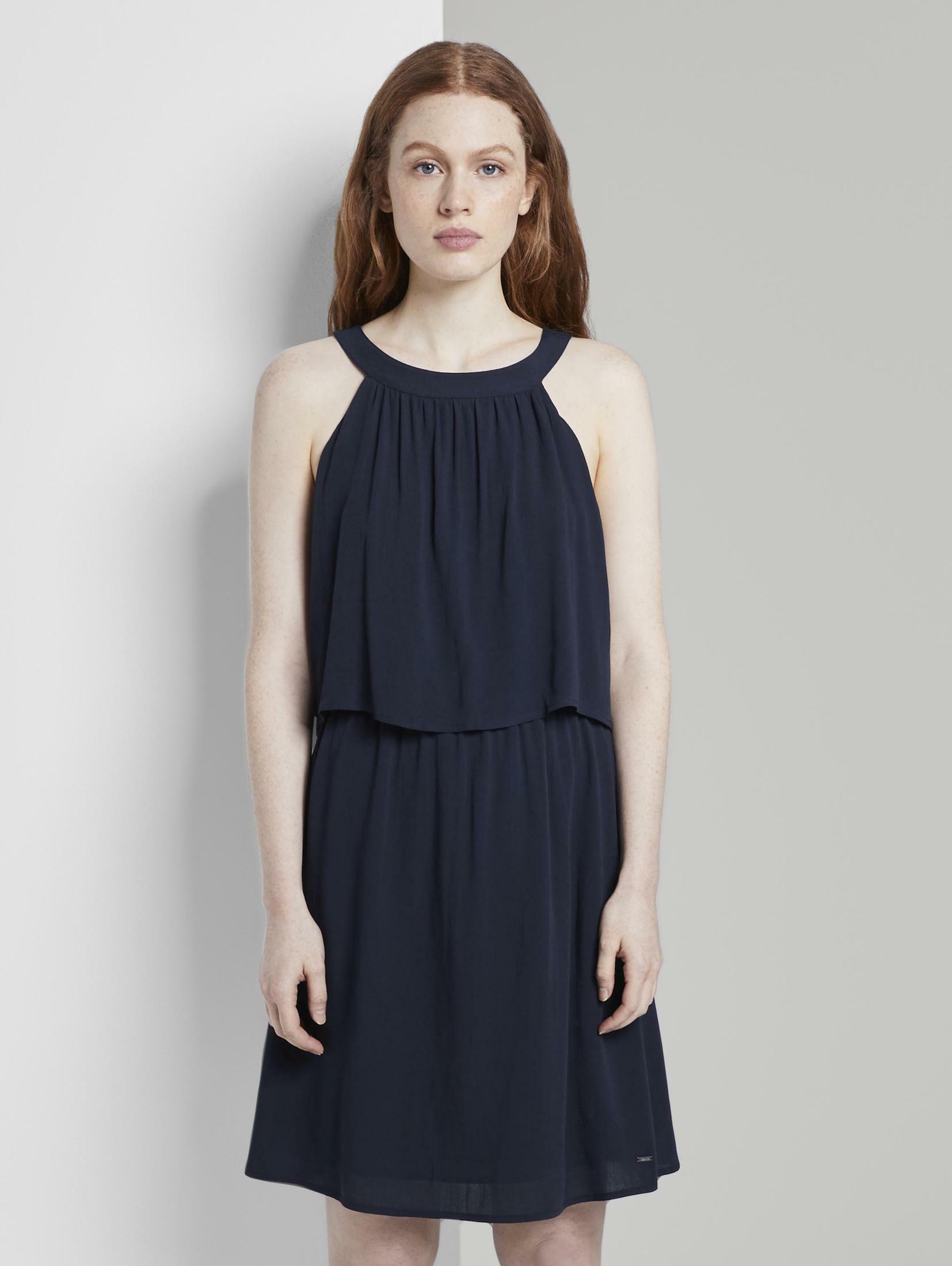 TOM TAILOR Denim Minikleid Neckholder Minikleid Damenmode/Bekleidung/Kleider/Minikleider