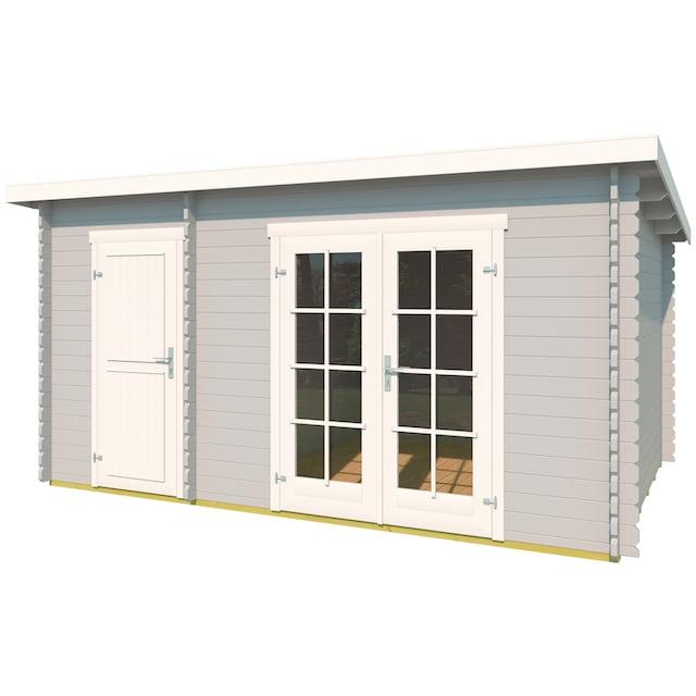 OUTDOOR LIFE PRODUCTS Gartenhaus »Belmont 1«, BxT: 400x270 cm, inkl. Fußboden