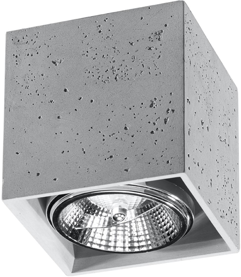 SOLLUX lighting Deckenleuchte VALDE, GU10, 1 St., Deckenlampe