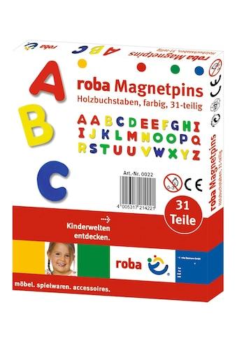 roba® Magnet »Magnetbuchstaben« (31 - tlg.) kaufen