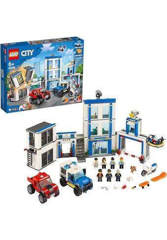 LEGO® Konstruktionsspielsteine »Polizeistation (60246), LEGO® City«, (743 St.) kaufen