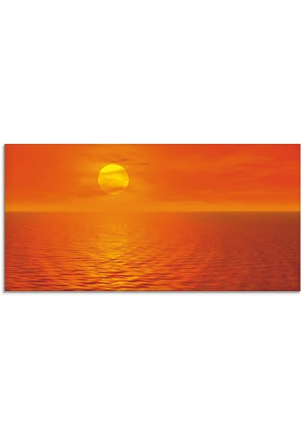 Artland Glasbild »Sonnenuntergang II«, Sonnenaufgang & -untergang, (1 St.) kaufen