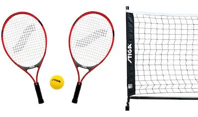 STIGA Mini Tennis - Set inkl. 2 Schläger, Softball und Netz kaufen