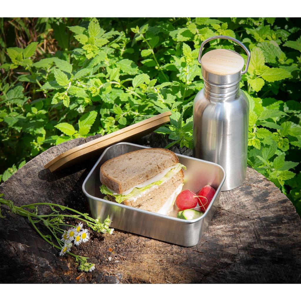 ECHTWERK Lunchbox, (1 tlg.), mit Bambusdeckel