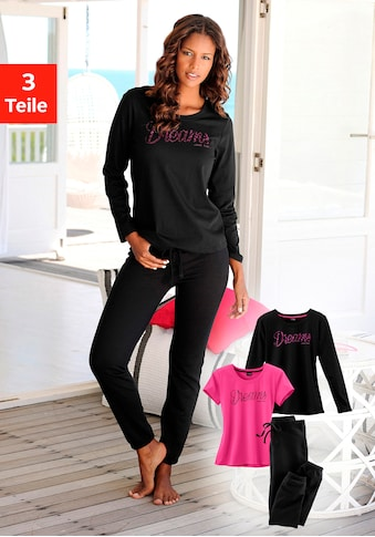 Vivance Dreams Pyjama (Set, 3 - tlg.) kaufen