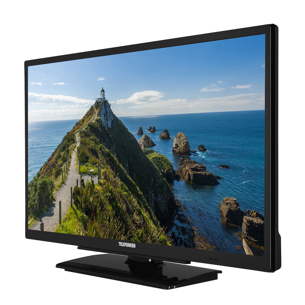 Telefunken WH24-ED11 LED-Fernseher (61 cm / (24 Zoll), HD ready