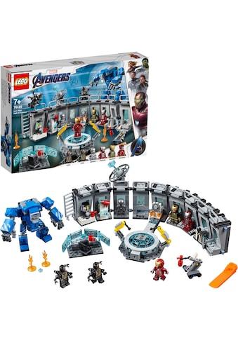 """LEGO® Konstruktionsspielsteine """"Iron Mans Werkstatt (76125) LEGO® Marvel Super Heroes™"""", Kunststoff, (524 - tlg.) kaufen"""
