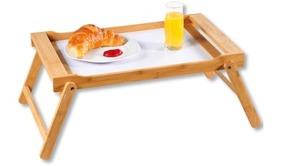 KESPER for kitchen & home Tablett »Bett-Tablett«, mit ausklappbaren Füßen kaufen