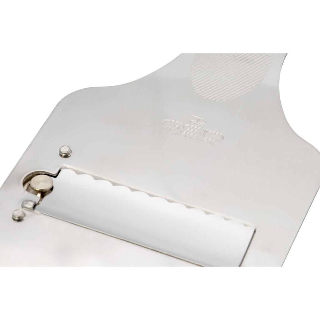 GSD HAUSHALTSGERÄTE Käsehobel, einstellbare Schnitthöhe