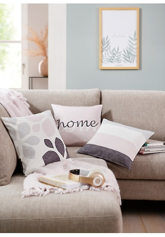"Kissenhüllen ""Mia"" Home affaire kaufen"