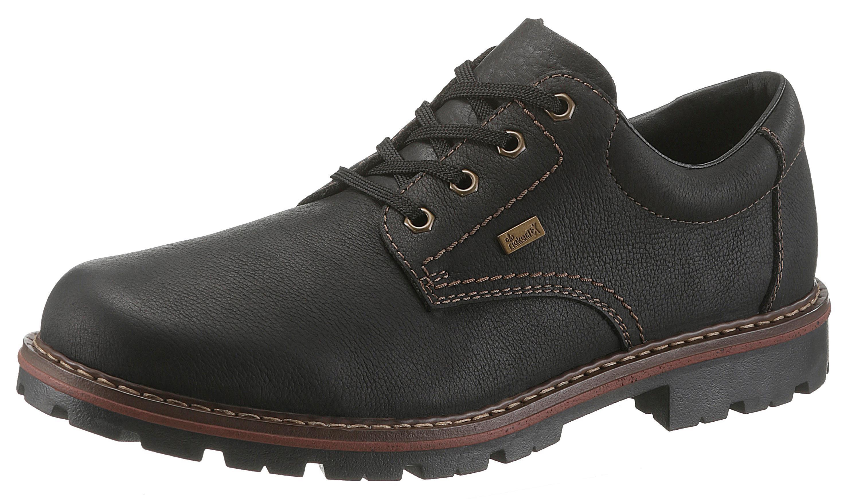 Rieker Schnürschuh | Schuhe > Schnürschuhe | Schwarz | RIEKER