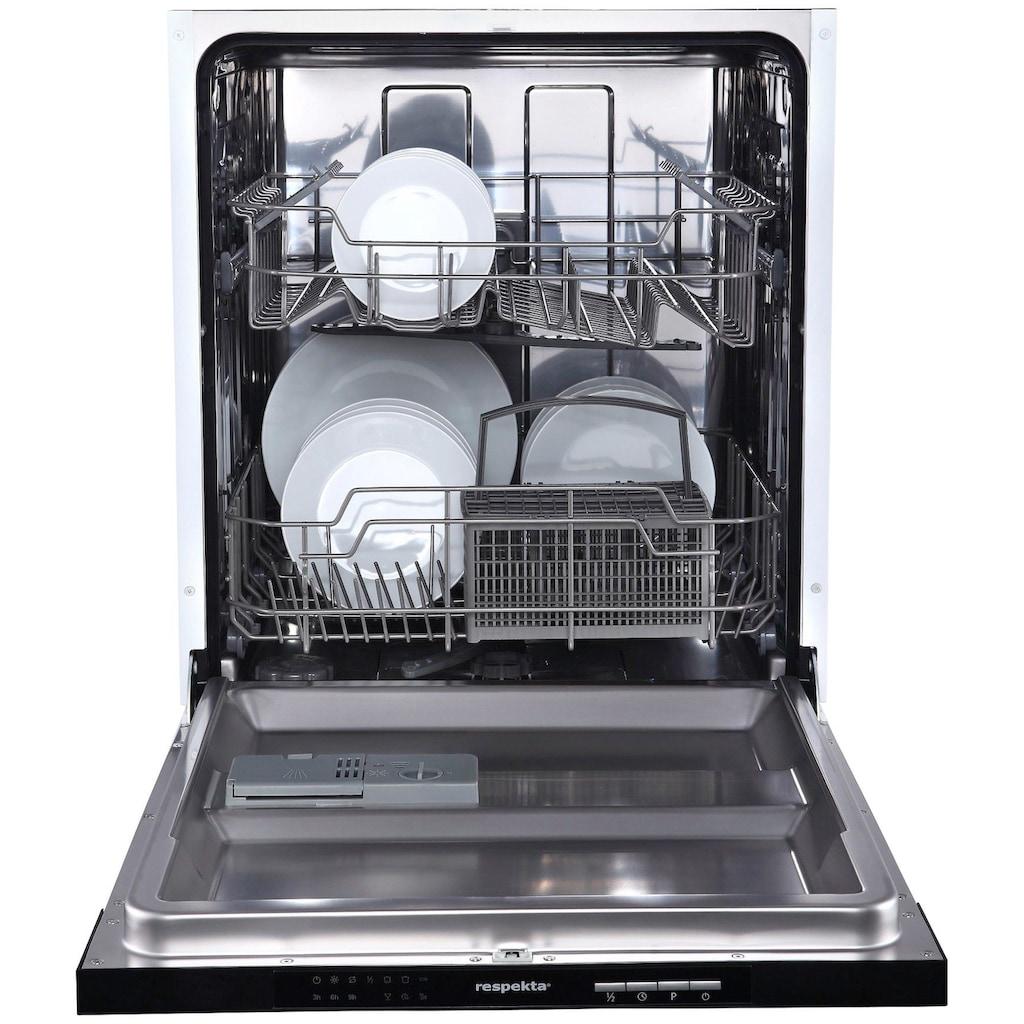 RESPEKTA Küchenzeile »Ulm«, mit E-Geräten, Breite 250 cm