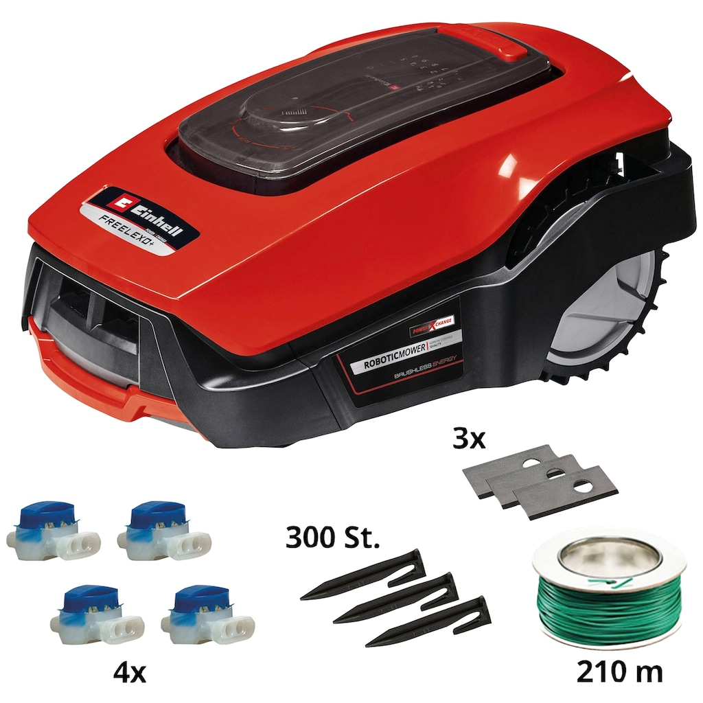 Einhell Rasenmähroboter »FREELEXO 1200 LCD BT«