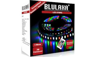 BLULAXA LED Stripe »LED Stipe SET RGB mehrfarbig«, kürzbar alle 2,5 cm kaufen