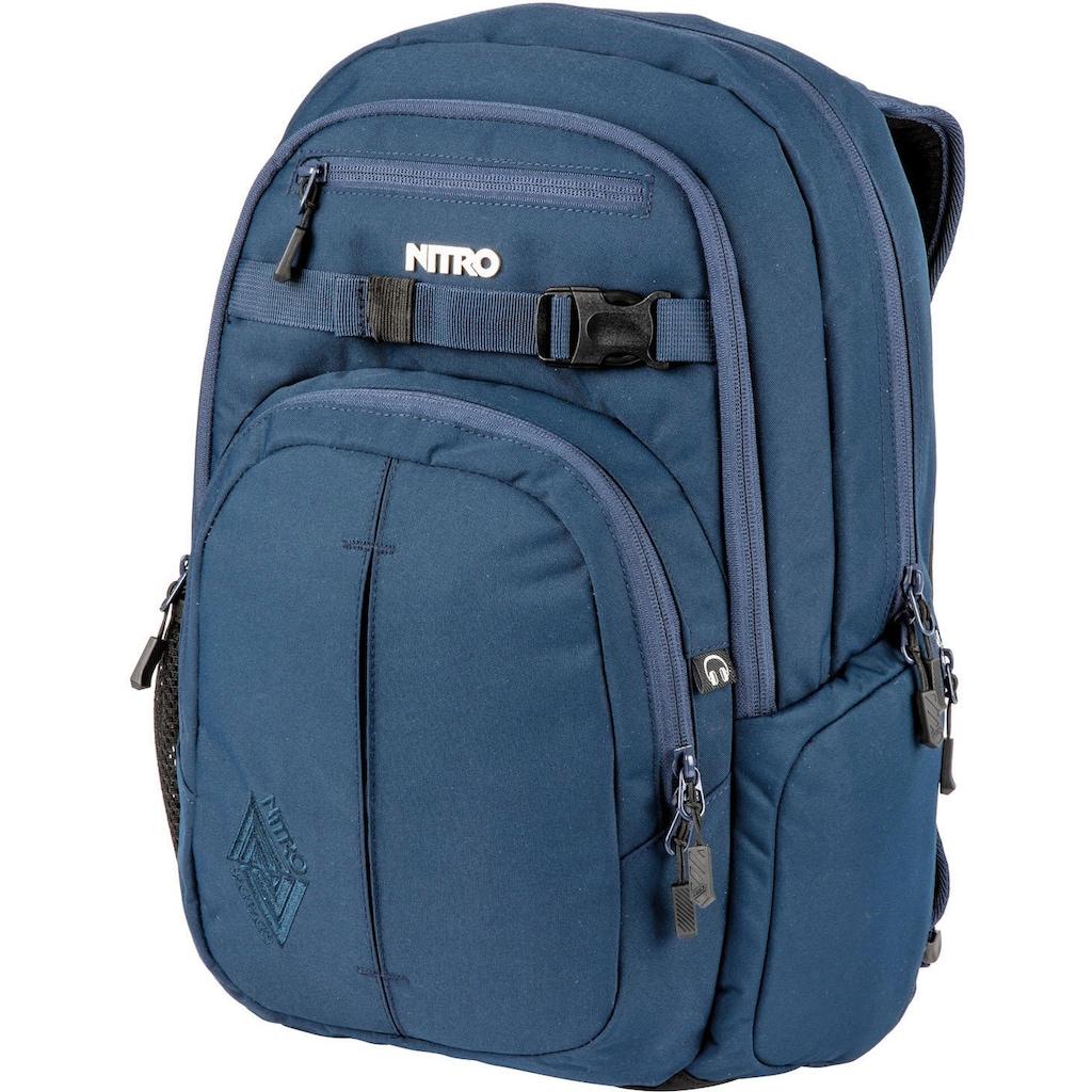 NITRO Schulrucksack »Chase, Indigo«