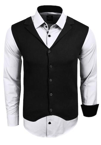 Rusty Neal Langarmhemd, inklusive Langarmhemd und Weste kaufen