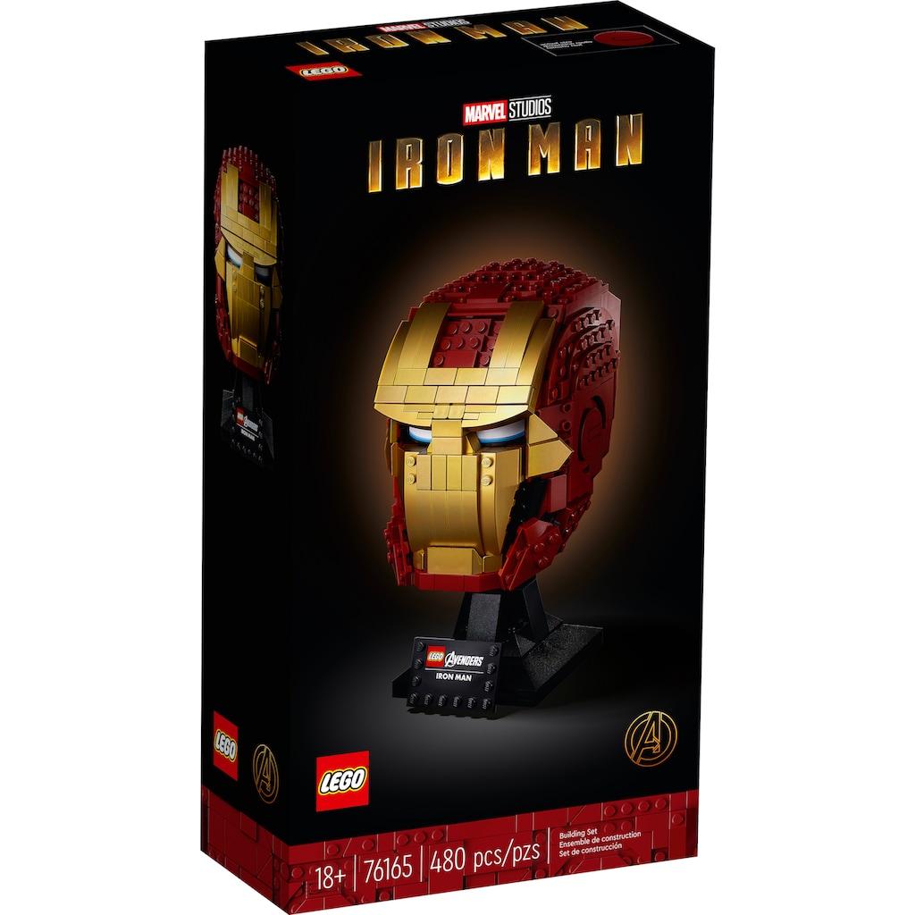 LEGO® Konstruktionsspielsteine »Iron Mans Helm (76165), LEGO® Marvel Avengers Movie 4«, (480 St.), Made in Europe