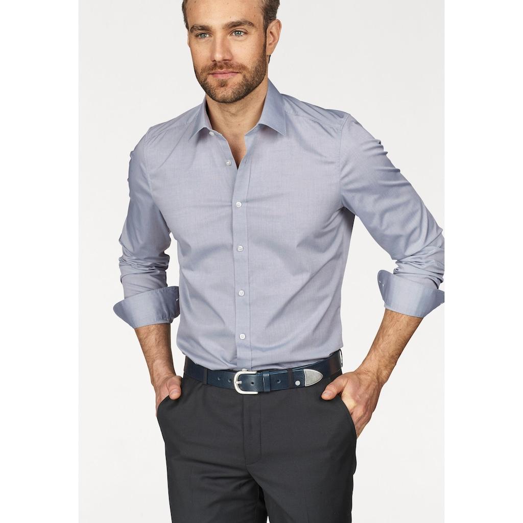 OLYMP Businesshemd »Level Five body fit«, mit extra langem Ärmel