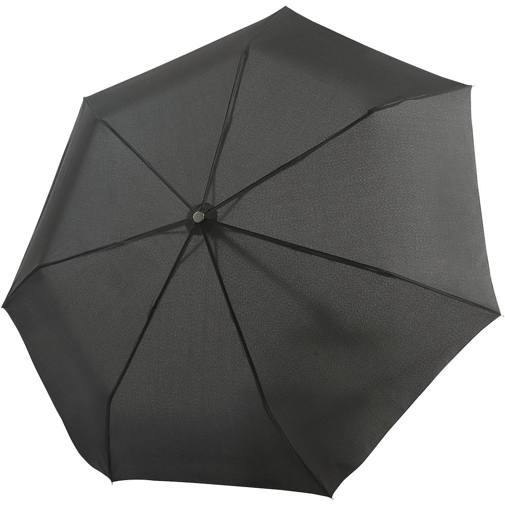 bugatti Taschenregenschirm »Take It Duo schwarz«