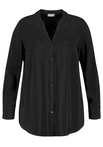 Samoon Langarmbluse »Bluse mit Brusttaschen« kaufen